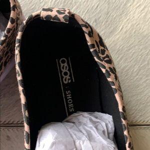 ASOS Shoes - ASOS Leopard Sneakers size 9